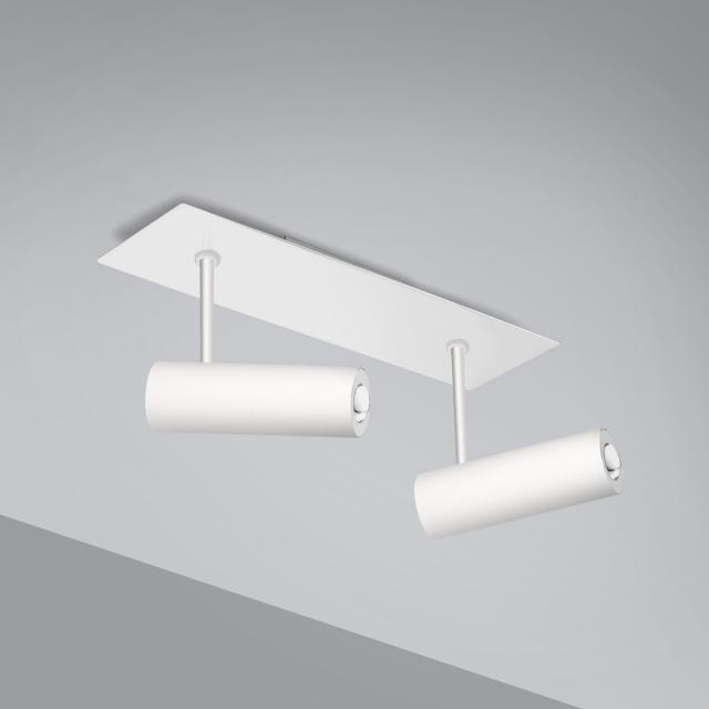 Pujol Tub LED Deckenleuchte/Spot 2-flammig