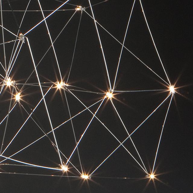 QUASAR Cosmos Disc LED Pendelleuchte, groß