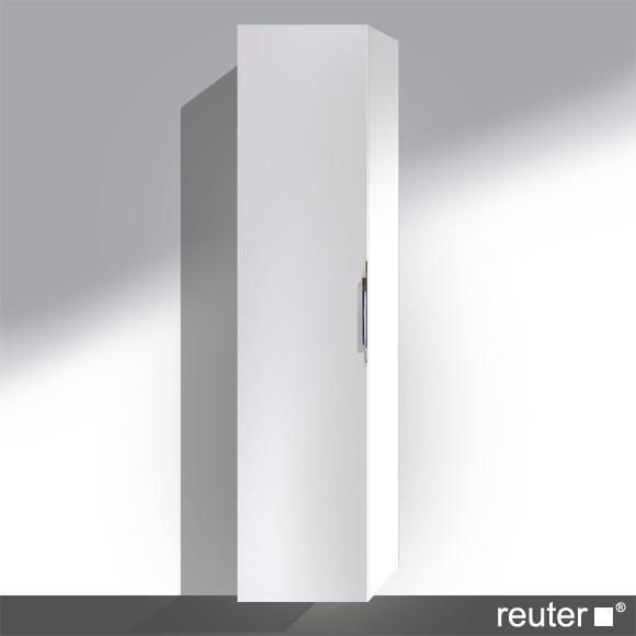 Reuter Kollektion System M01 Hochschrank Front weiß hochglanz Lack / Korpus weiß hochglanz Lack