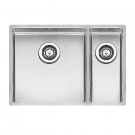 Reginox New York Küchenspüle mit Doppelbecken Spülbecken links