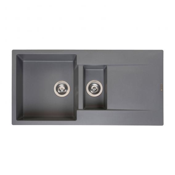 Reginox Amsterdam 15 Küchenspüle grau metallic