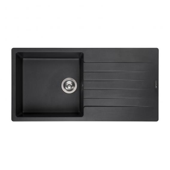 Reginox Harlem 10 Küchenspüle schwarz metallic