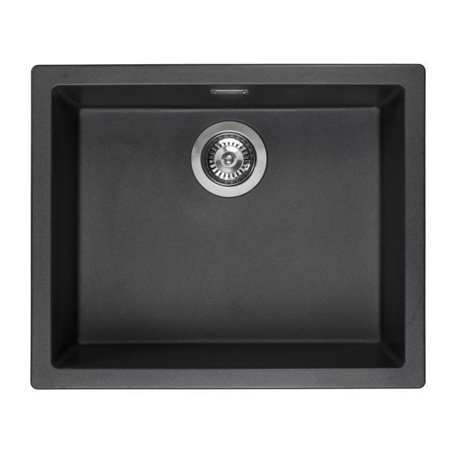 Reginox Amsterdam 50 Küchenspüle schwarz metallic