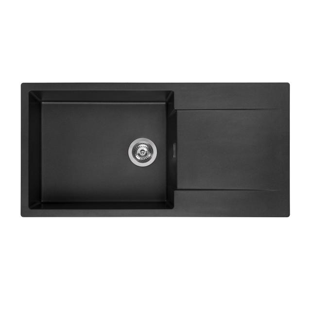 Reginox Amsterdam 540 Küchenspüle schwarz metallic
