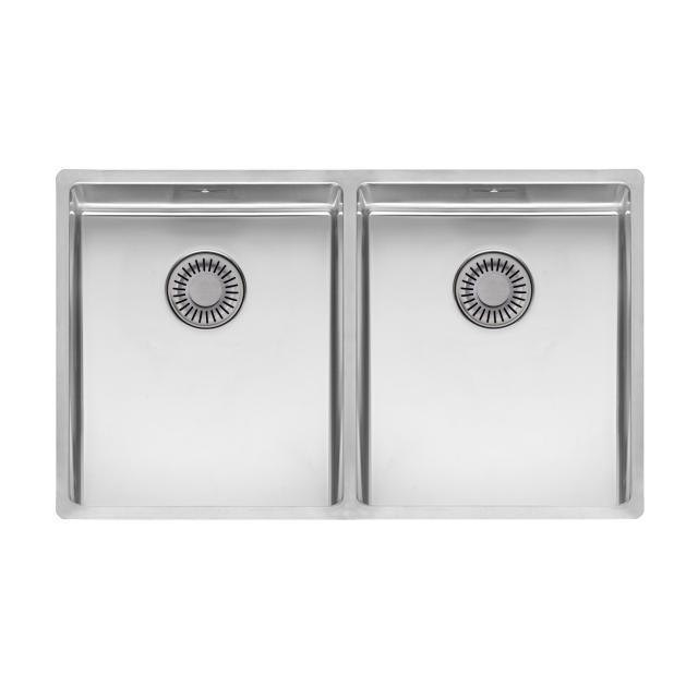 Reginox New York OKGD Küchenspüle mit Doppelbecken