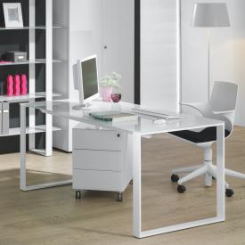Reinhard maxim Schreibtisch. Glas
