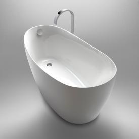 Repabad Ferrara Mono F freistehende Badewanne weiß