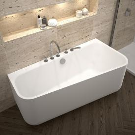 Repabad Seed F Vorwand-Badewanne mit Verkleidung weiß, mit RepaGrip, ohne Füllfunktion