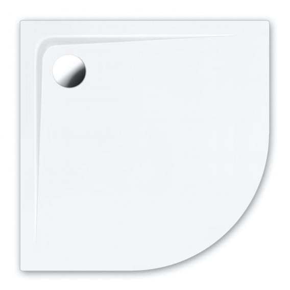 Repabad Bologna Viertelkreis-Duschwanne weiß