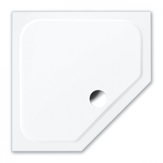 Repabad Trento S Fünfeck-Duschwanne weiß