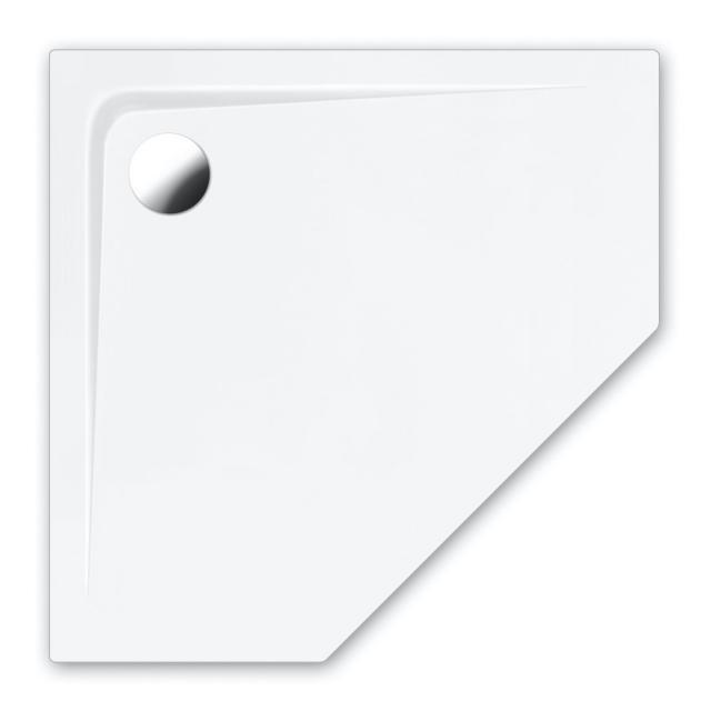 Repabad Arco Fünfeck-Duschwanne weiß