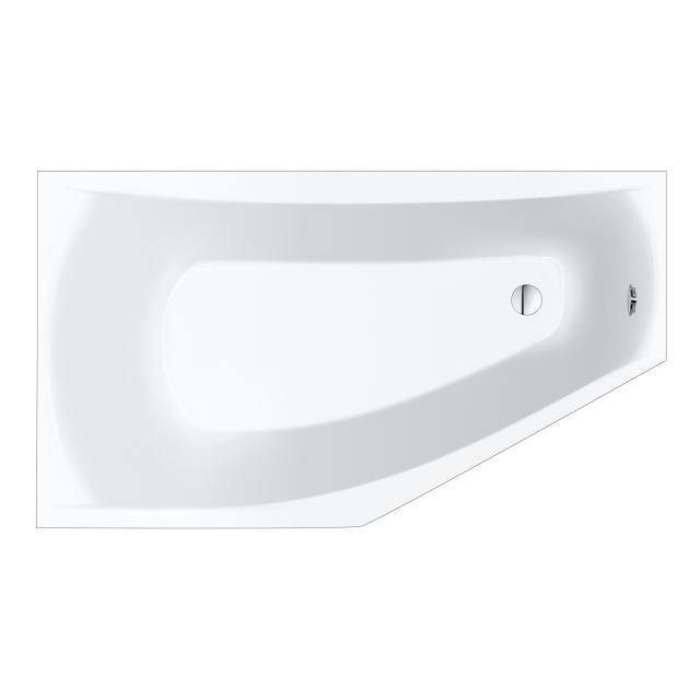 Repabad Arosa Raumspar-Badewanne, Einbau weiß