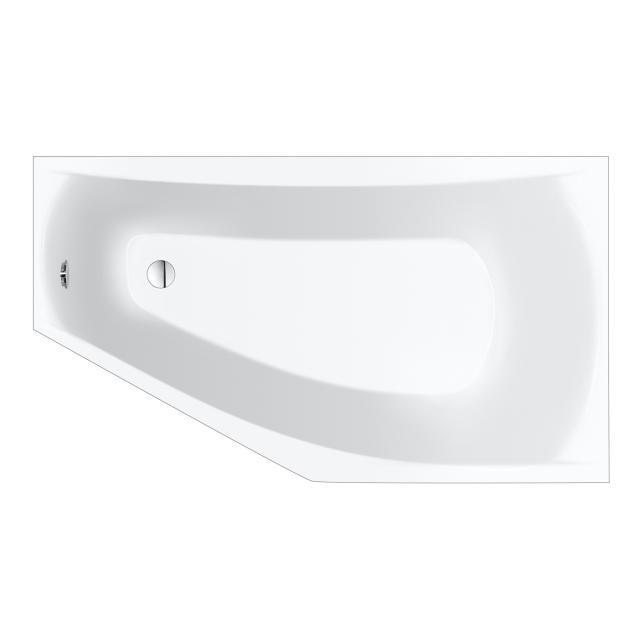 Repabad Arosa Raumspar-Badewanne weiß