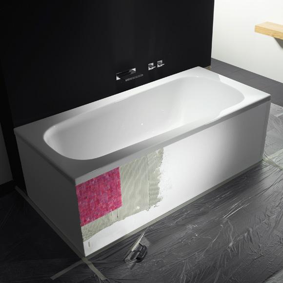 Repabad Genf Wannenträger für Trapez-Badewannen