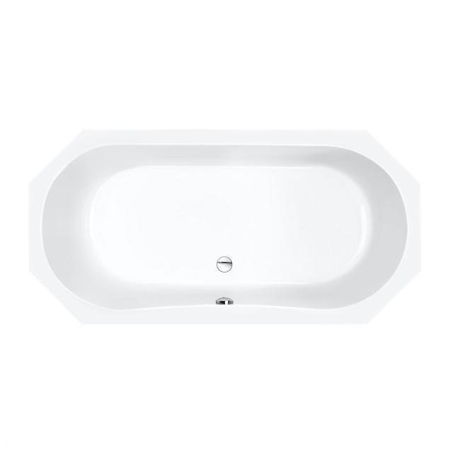 Repabad Helios Achteck-Badewanne, Einbau weiß