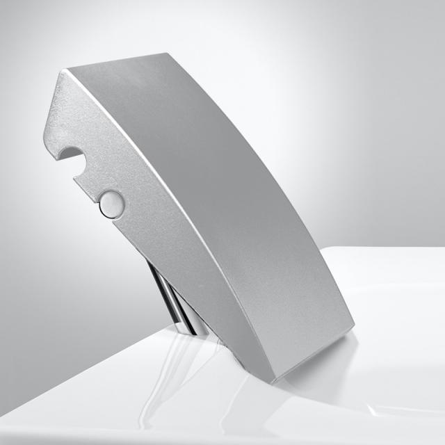 Repabad Kopf-Nackenstütze ohne Montage silber