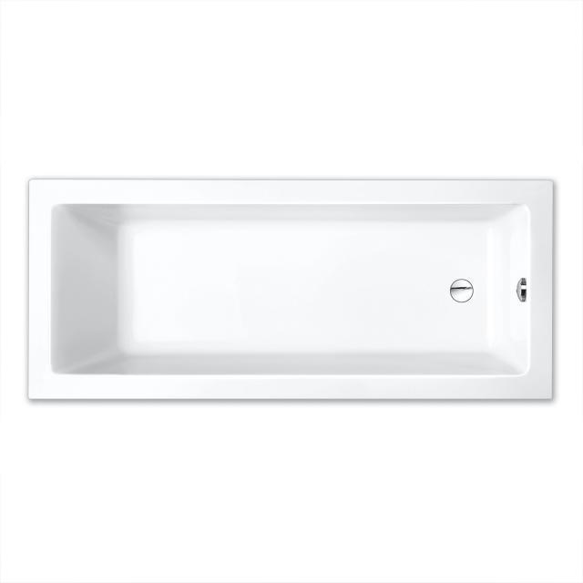 Repabad Livorno Mono Rechteck-Badewanne, Einbau weiß