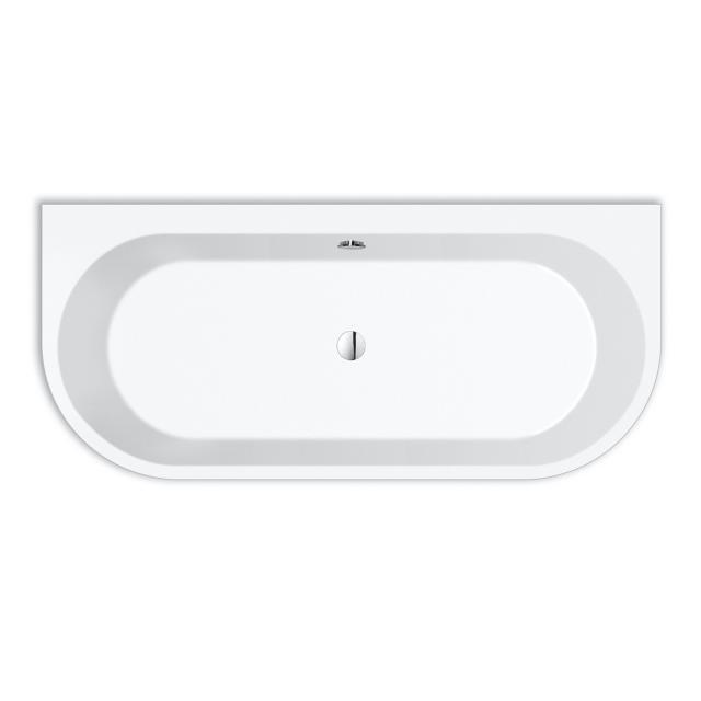 Repabad Livorno Vorwand-Badewanne mit Verkleidung weiß matt, ohne Füllfunktion