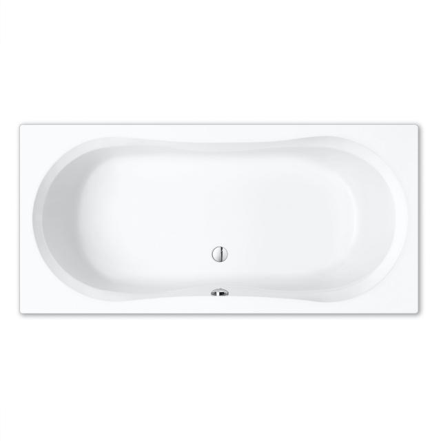 Repabad Pluto Rechteck-Badewanne, Einbau weiß