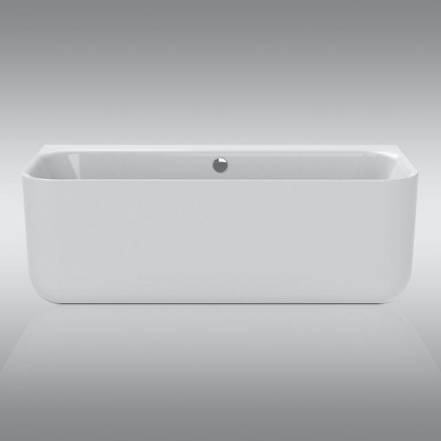 Repabad Seed F Vorwand-Badewanne mit Verkleidung weiß matt, ohne Füllfunktion