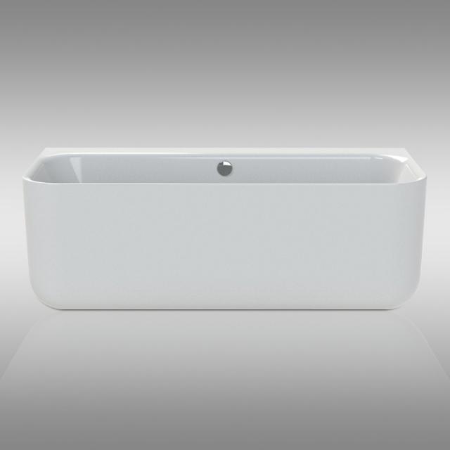 Repabad Seed F Vorwand-Badewanne mit Verkleidung weiß, ohne Füllfunktion