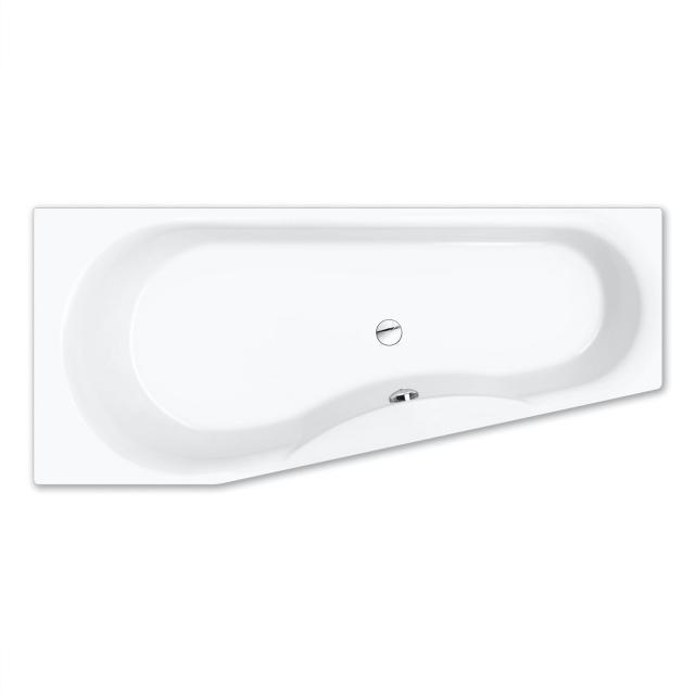 Repabad Tika Raumspar-Badewanne, Einbau weiß