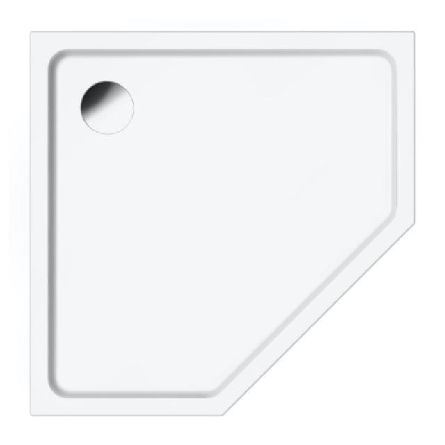 Repabad Valencia Fünfeck-Duschwanne weiß