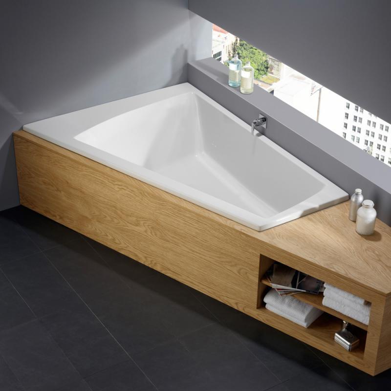 repabad genf duo rechts eck badewanne 0021557 0001 reuter. Black Bedroom Furniture Sets. Home Design Ideas