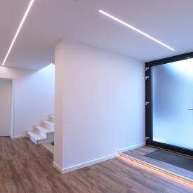 reprofil Hohes U LED Aufbau Profil Set