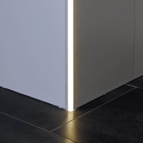 reprofil Fliesen Außenecke LED Einbau Profil Set extra Homogen