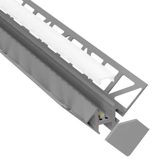 reprofil Fliesen Innenecke LED Einbau Profil Set