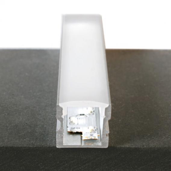 reprofil Hohes U LED Aufbau Profil Set RGB-WW