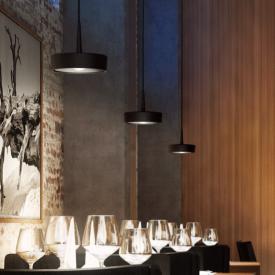 RIBAG ARVA LED Pendelleuchte mit Linse 3-flammig