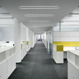RIBAG METRON LED Deckenleuchte / Wandleuchte mit Punktraster