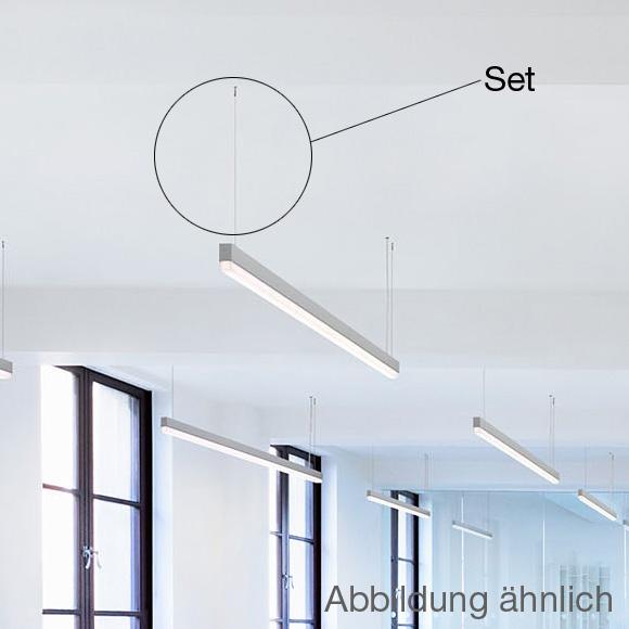RIBAG Pendel- Set für METRON LED Deckenleuchten