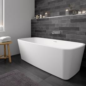 Riho Admire freistehende Badewanne ohne Füllfunktion chrom
