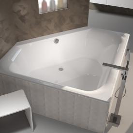 Riho Austin Eck-Badewanne, Einbau