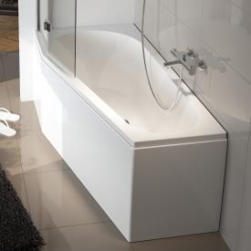 Riho Delta Raumspar-Badewanne, Einbau