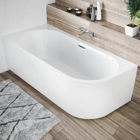 Riho Desire Corner Eck-Badewanne mit Verkleidung ohne Füllfunktion