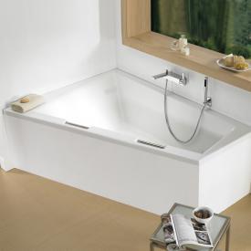 Riho Doppio Raumspar-Badewanne, Einbauversion ohne Füllfunktion