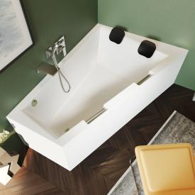 Riho Doppio Raumspar-Badewanne mit Verkleidung