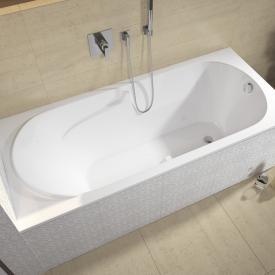 Riho Future Rechteck Badewanne ohne Whirlsystem