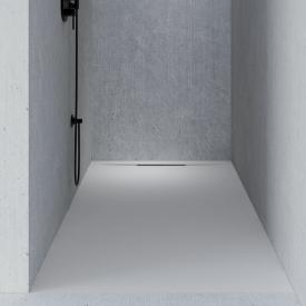 Riho Isola Rechteck-Duschwanne weiß matt