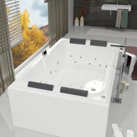 Riho Laura Rechteck Thermae Whirlpool mit Farblichttherapie & Touch + Heizung