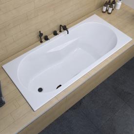 Riho Lazy Rechteck-Badewanne mit seitichem Überlauf