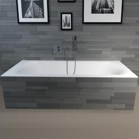 Riho Linares Rechteck-Badewanne, Einbau weiß