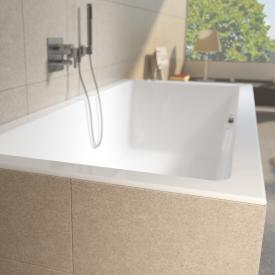 Riho Lugo Rechteck-Badewanne, Einbau weiß matt