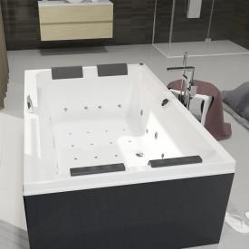 Riho Olivia Rechteck Whirlpool Ausführung rechts mit Farblichttherapie & Touch + Heizung