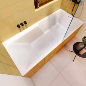 Riho Still Shower Rechteck-Badewanne, Einbau ohne Füllfunktion