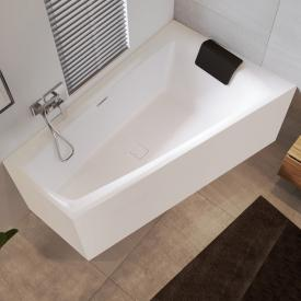Riho Still Smart Raumspar-Badewanne mit Verkleidung mit Füllfunktion